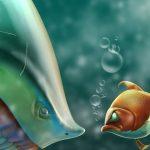 Странное поведение у рыб